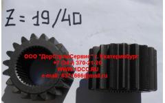 Шестерня полуоси (центральная бортового редуктора Z-19, z-40) H'2011