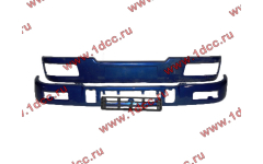 Бампер C синий верхний+нижний (в сборе) фото Челябинск